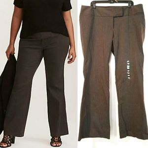 Torrid Charcoal Gray Relaxed Trouser Pant - NWOT